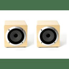 Komplet 2x Omega zvočnik bluetooth OG60W leseno ohišje - Bluetooth V4.2 TWS