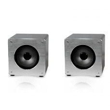 Komplet 2x Omega zvočnik bluetooth OG60A Aluminium Bluetooth V4.2 TWS