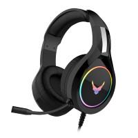 Omega VARR gaming slušalke VH6060B z RGB osvetlitvijo + adapter za računalnik