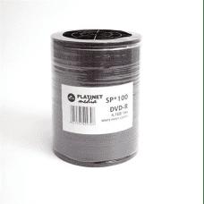 Platinet Glossy DVD-R 16x 4.7GB FS White Printable, 100 kom