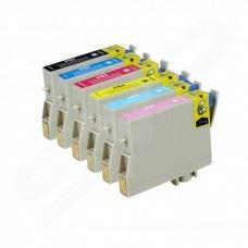 EPSON T0487 , T0481 do T0486 , komplet 6 kompatibilnih kartuš