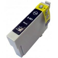 EPSON T0801 , kompatibilna črna kartuša 19ml