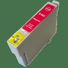 EPSON T0803 magenta, kompatibilna rdeča kartuša 19ml