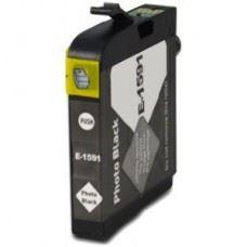 EPSON T1591 , kompatibilna črna kartuša 17ml