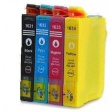 EPSON 16XL , T1621 do T1624 , T1631 do T1634 , komplet 4 kompatibilne kartuše