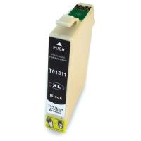 EPSON T1811 , T1801 , T18XL kompatibilna črna kartuša