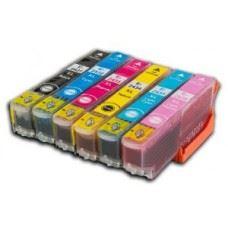 EPSON 24XL , T2431 do T2436 , komplet 6 kompatibilnih kartuš