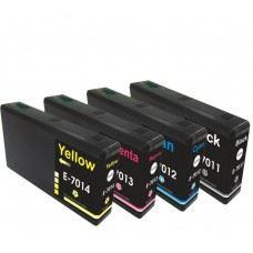 EPSON T7015 , T7011 do T7014 , komplet 4 kompatibilne kartuše
