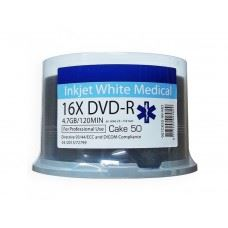 Traxdata Ritek DVD-R 16x 4.7GB Medical Line - Medicinska Linija, Full Surface Printable 50 kom