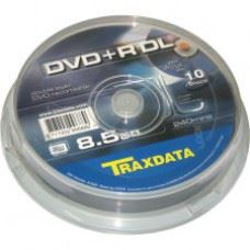 Traxdata DVD+R DL 8.5GB Double Layer, 10 kom