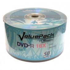 Traxdata DVD-R 4.7 GB 16x hitrost, 50 kom