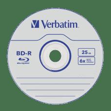 Verbatim BD-R 6x 25GB, 25 kom