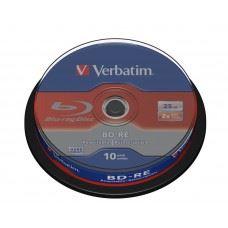 Verbatim BD-RE Rewriteable 2x 25GB 10 kom