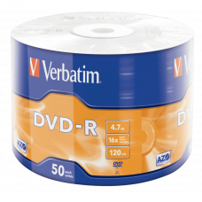 Verbatim DVD-R 4.7GB 16x hitrost, 50 kom
