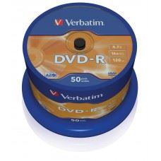 Verbatim DVD-R Matt Silver 4.7 GB 16x hitrost, 50 kom