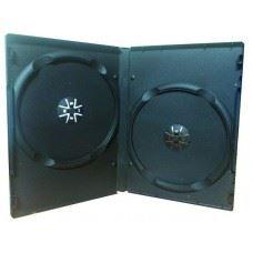 MediaRange DVD škatlica 14MM za 2 DVDja, 100 kom