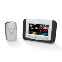 Omega brezžična digitalna vremenska postaja z barvnim LCD zaslonom
