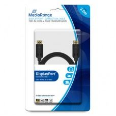 Displayport kabel s pozlačenimi kontakti , 10 Gbit/s , 2M