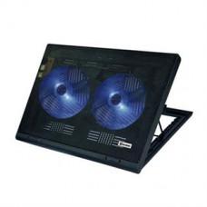 """Prenosna hladilna podloga z ventilatorjema za prenosnike do 43,2cm , 17"""""""