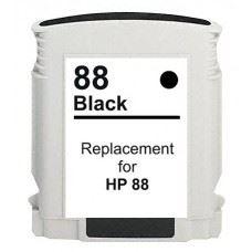 HP 88 XL, HP88 BK XL,  kompatibilna XL črna kartuša