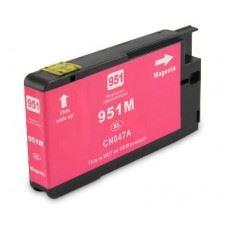 HP 951M XL, kompatibilna rdeča - magenta , kartuša s čipom