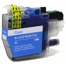Brother kompatibilna LC3217C XL , LC3219C XL , modra kartuša, 20ml