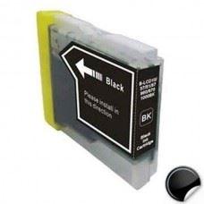 Brother LC970BK , LC1000BK , kompatibilna črna kartuša, 22ml