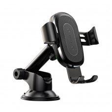 Baseus  gravity brezžični QI polnilec in univerzalni nosilec za pametne telefone