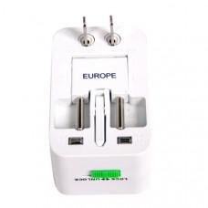 Univerzalni adapter/pretvornik - Kitajska, Velika Britanija - UK, Singapur, Tajska, Avstralija, Evropa, ZDA, Japonska