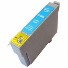 EPSON T0805, kompatibilna svetlo modra kartuša 19ml