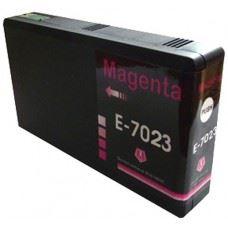 EPSON T7023 , kompatibilna rdeča kartuša , magenta 25ml