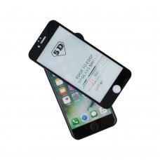 Zaščitno steklo kaljeno za iPhone XS Max / iPhone 11 Pro Max , celotna pokritost ekrana , črna